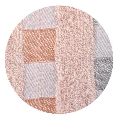 492-015 Полотенце для рук махровое, хлопок, 3 цвета, 33x74см