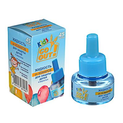 962-001 Жидкость от комаров детскаяДомовой 45 ночей, Л063/073