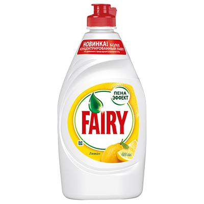 992-039 Средство для мытья посуды FAIRY Сочный лимон п/б 450мл арт.81628046