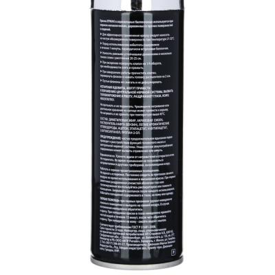 759-020 ЕРМАК Краска аэрозоль 210мл, хром (9004/CS)