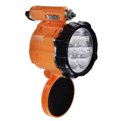 928-028 ЕРМАК Фонарь 7 LED, 5Вт, от прикуривателя 12В, магнит