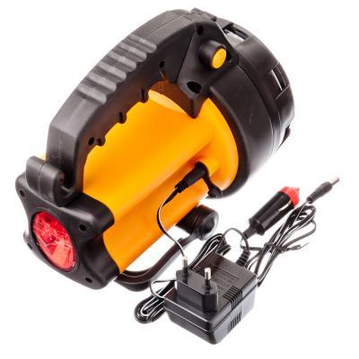 928-030 ЕРМАК Фонарь аккумуляторный, 5Вт, 8LED, заряд от прикур 12В + 220В, до 5 часов автоном.работы