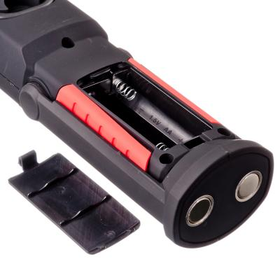 632-022 ЕРМАК Фонарь2Вт+0,5Вт, 1LED+1COB, магнит, 6x5x21,5см, питание 3АА (в комплект не входят)