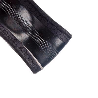 708-090 NEW GALAXY Оплетка руля, экокожа, вставки под нубук+волнистый рельеф, черный, разм. (М)