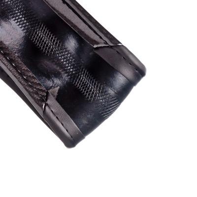 708-093 NEW GALAXY Оплетка руля, карбон + рельефные вставки каучук, черный, разм. (М)