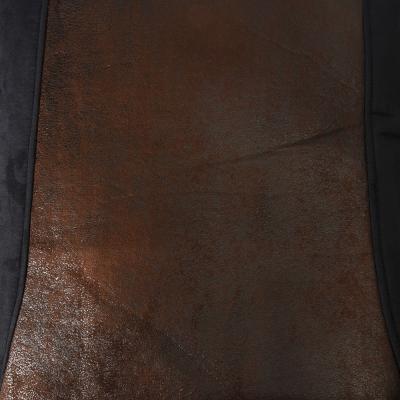 """798-067 NEW GALAXY Комплект универс. чехлов 9 пр, полиэстер + алькантара, 3мм поролон, черн/корич """"Сафари"""""""
