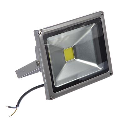 922-072 Прожектор светодиодный СОБ 20Вт, 250В, IP65, алюминиевый сплав/стекло, 140х180х85