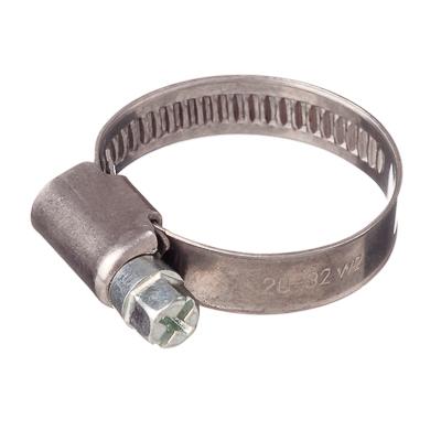 788-025 ЭКОФИКС Хомут оцинк. сталь, 20-32мм, W1, шир. 9мм
