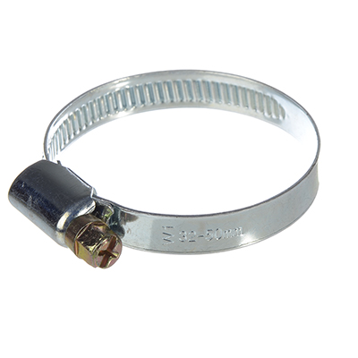 788-027 ЭКОФИКС Хомут оцинк. сталь, 32-50мм, W1, шир. 9мм