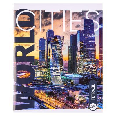 524-190 Тетрадь общая ClipStudio 48 листов в клетку, 10 дизайнов