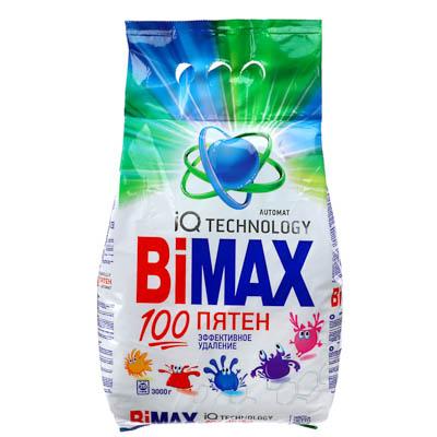 958-086 Стиральный порошок BiMax 100 пятен автомат п/у 3кг арт. 922-1/966-1