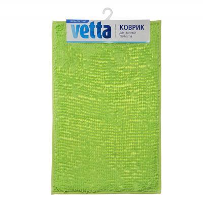 462-622 VETTA Коврик для ванной из микрофибры лапша, 48x78см, 5 цветов