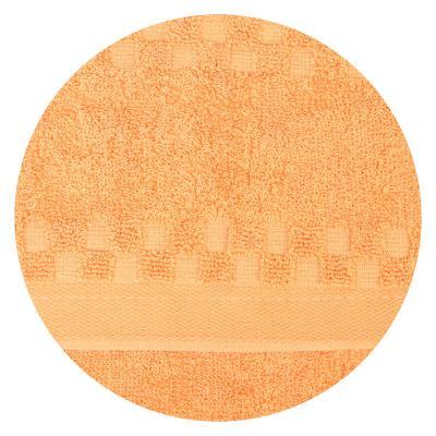 """492-017 Полотенце для рук махровое, хлопок,  33x76см, 3 цвета, """"Клетка"""""""