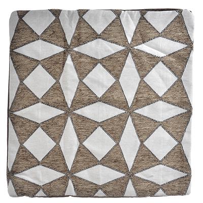 482-561 Декоративная наволочка для подушки жаккард 40x40см