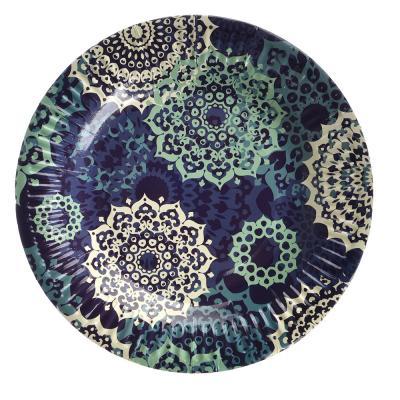 528-139 Марокко Набор бумажных тарелок, 6шт, d18см, GC Design