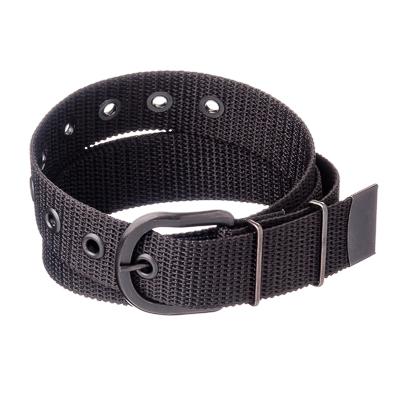 ЕРМАК Ремень брючный, длина 1,2м, ширина 3,5см, цвет черный, пряжка Классик