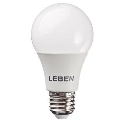 925-025 LEBEN Лампа светодиодная A60 8W, E27, 650lm 4200К