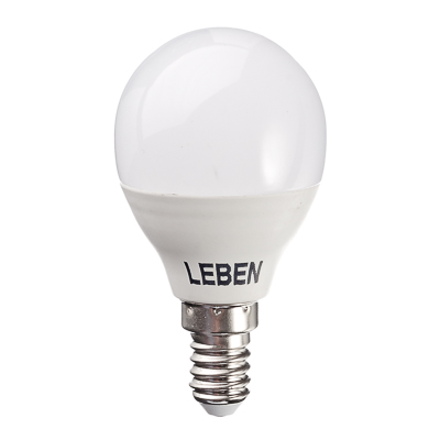 925-028 LEBEN Лампа светодиодная G45 7W, E14, 560lm 2700К