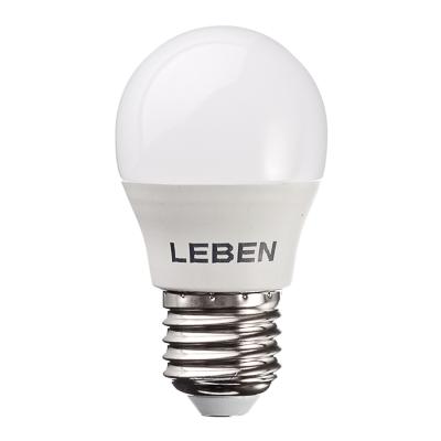 925-030 LEBEN Лампа светодиодная G45 7W, E27, 560lm 2700К