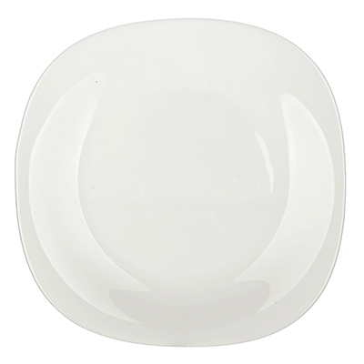 483-007 Bormioli Parma Тарелка десертная опаловое стекло, 20x20см