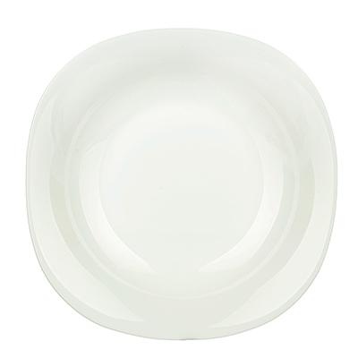 483-008 Тарелка суповая d.22,5 см Bormioli Parma, опаловое стекло