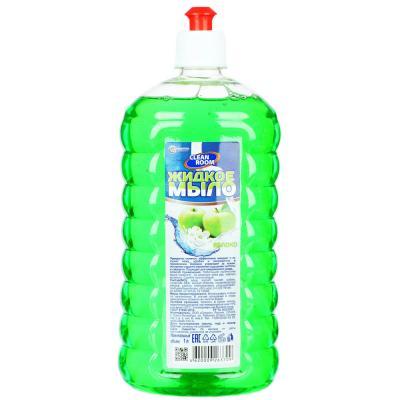 952-072 Мыло жидкое Clean Room яблоко,лимон/Бархат ромашка (антибактериальное), п/б 1000мл, БМ-311