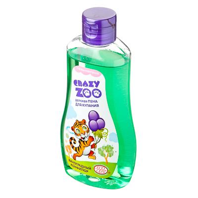 927-031 Пена для купания детская Крейзи Зу, виноградный конфитюр, п/б 280г, 7114