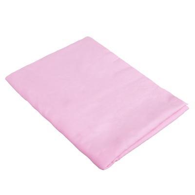 728-009 NEW GALAXY Замша протирочная PVA, в тубе, 43x32см, розовая