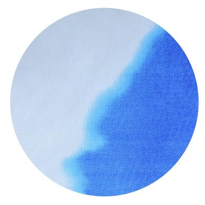 "461-459 VETTA Шторка для ванной, ткань полиэстер с утяжелит, 180x180см, ""Море"", Дизайн GC"
