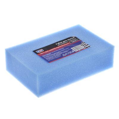 728-011 NEW GALAXY Губка для мытья автомобиля, поролон, 18х11,8х5см, Прямоугольник