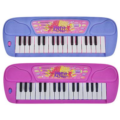 262-327 МЕШОК ПОДАРКОВ Игрушка Пианино, пластик, 32х10,5х2,5см, 2 цвета