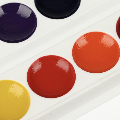 583-242 Краски акварельные медовые ClipStudio 12 цветов без кисточки