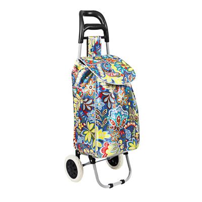 467-170 Тележка + сумка, грузоподъемность до 30кг, 600D полиэстер,95x36x28см,колеса d16см,сумка 54x22x32см