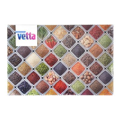 853-191 Доска разделочная стеклянная VETTA Ароматная лавка, 20х30х0,4см