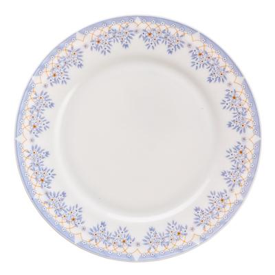 """818-965 Тарелка десертная, опаловое стекло, 20 см, MILLIMI """"Аполлон"""""""