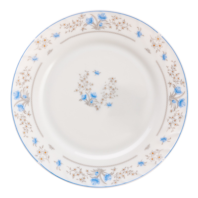 818-971 MILLIMI Симона Тарелка десертная опаловое стекло 20см, HP80/6-241