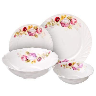 """818-979 Набор столовой посуды 19 предметов, MILLIMI """"Нефела"""""""
