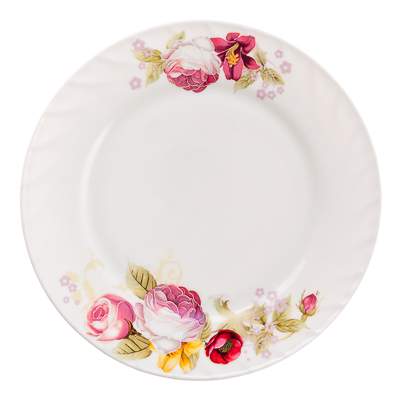 "818-983 Тарелка десертная, опаловое стекло, 20 см, MILLIMI ""Нефела"""