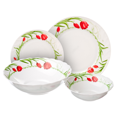 818-985 MILLIMI Дафна Набор столовой посуды 19 пр., W-19B6-1042