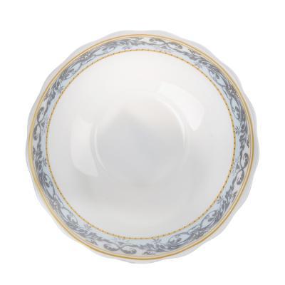 818-150 MILLIMI Аделина Салатник, опаловое стекло, 151мм, 412мл, HW60T-16142A