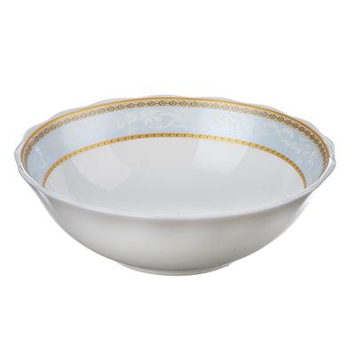 818-152 MILLIMI Кристина Салатник, опаловое стекло, 151мм, 412мл, HW60T-16142C