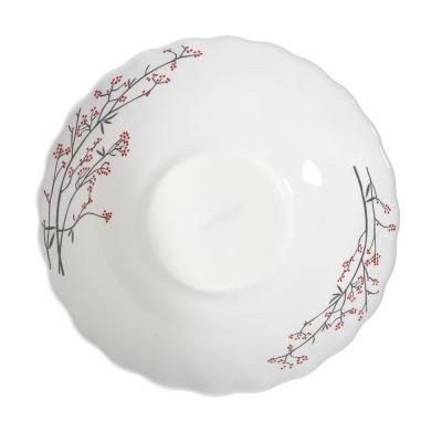 818-306 MILLIMI Марисса Салатник, опаловое стекло, 227мм, 1470мл