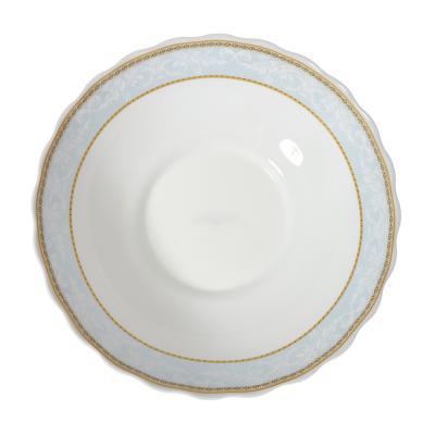 818-350 MILLIMI Кристина Салатник, опаловое стекло, 227мм, 1470мл, HW90T-16142C