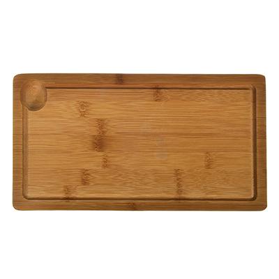 """851-159 Доска разделочная с выемкой, бамбук, 32x17x2см, VETTA """"Гринвуд"""""""