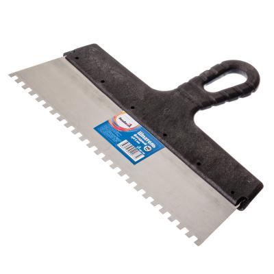 683-108 HEADMAN Шпатель фасадный 300 мм, зуб 6 мм, полированная сталь, спец.покрытие, пластмассовая ручка