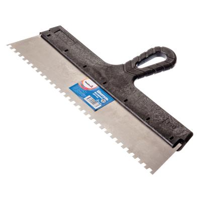 683-109 HEADMAN Шпатель фасадный 350 мм, зуб 6 мм, полированная сталь, спец.покрытие, пластмассовая ручка
