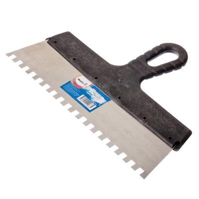 683-114 HEADMAN Шпатель фасадный 300 мм, зуб 8 мм, полированная сталь, спец.покрытие, пластмассовая ручка