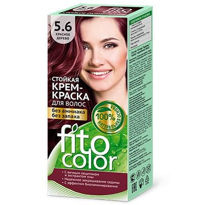 """972-044 Крем-краска стойкая для волос серии """"Fitocolor"""", тон красное дерево 115мл"""