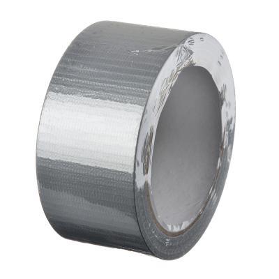 687-029 HEADMAN Лента клейкая армированная серебряная 48мм х 25м, инд.упаковка
