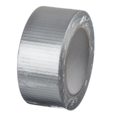 687-030 HEADMAN Лента клейкая армированная серебряная 48мм х 40м, инд.упаковка